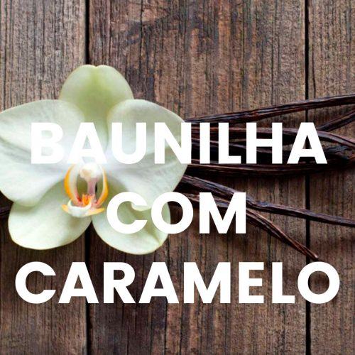 Aroma comercial - Baunilha com caramelo