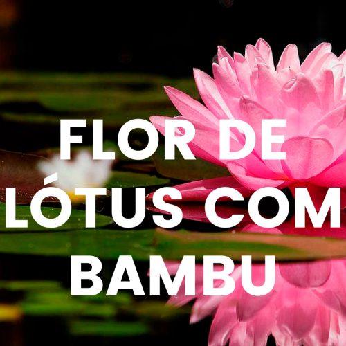 Aroma comercial - Flor de lótus com bambu